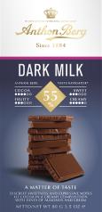 Dark Milk Chocolate 55%